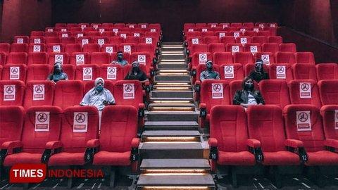 Hore, Bioskop di Matos Resmi Beroperasi Meski Kapasitas Dibatasi 50 Persen