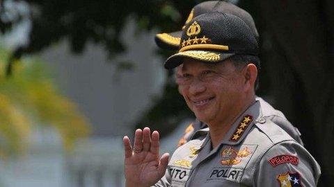 Jabatan Baru untuk Kapolri Tito Karnavian