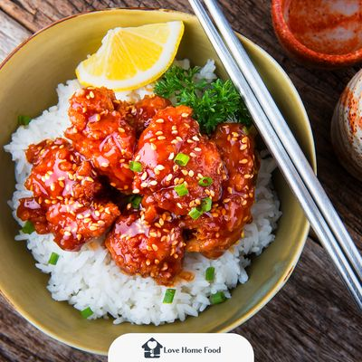 Resep Korean Spicy Chicken Rice Bowl Endeus Tv