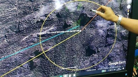 Tim SAR Temukan Lokasi Jatuhnya Twin Otter PK-CDC di Papua