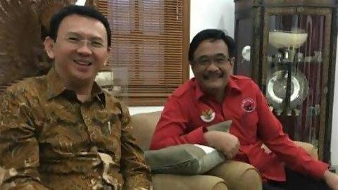 PDIP putuskan usung Ahok-Djarot di Pilgub DKI 2017
