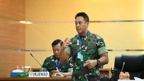 KSAD TNI Andika Siap Tingkatkan Kualitas Layanan Pasien Virus Corona
