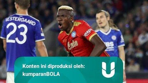 Profil Victor Osimhen: Pemain Napoli yang Gagalkan Kemenangan Leicester