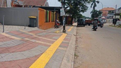 Realisasikan Usulan Warga, DPU Tangsel Lakukan Penataan Pedestrian Jalan Sumatera dan Jalan Batam