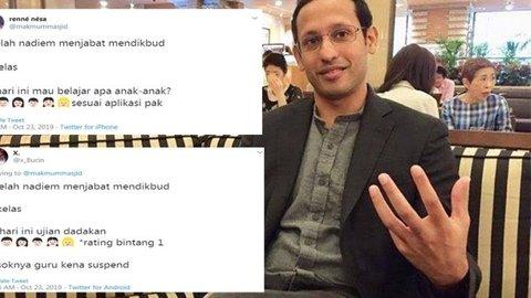 Nadiem Makarim jadi Mendikbud, ini 10 cuitan lucu warganet