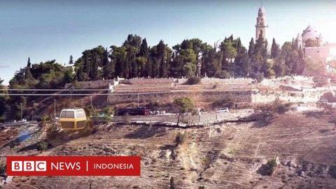 Walau diprotes, Israel setujui pembangunan jaringan kereta gantung di Kota Tua Yerusalem