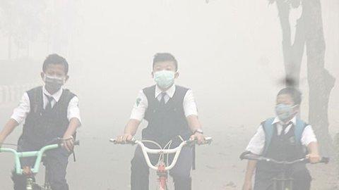 Udara Palangka Raya Tak Sehat, Siswa Sekolah Diliburkan