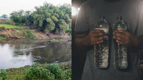 Sungai Bengawan Solo Tercemar Ciu, Belasan Ribu Warga Kekurangan Air Bersih