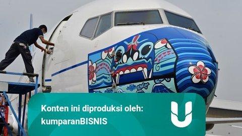 BREAKING NEWS: BEI Setop Perdagangan Saham Garuda Indonesia
