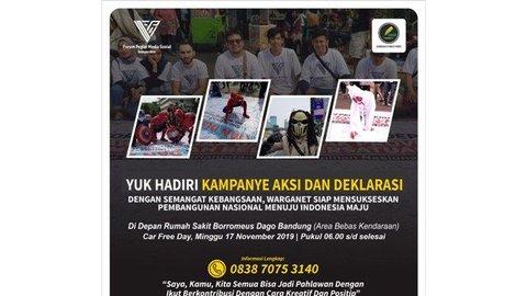 Peringati Hari Pahlawan, FPMSI - Gesit akan Gelar Aksi Indonesia Maju