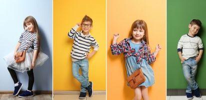 Anak-anak punya dunia yang ceria dan menyenangkan. Oleh karena itu, pakaian yang dikenakannya pun harus bisa menggambarkan keceriaannya.