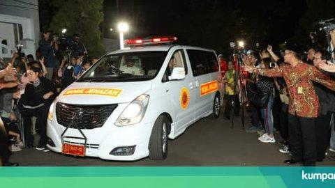 Ma'ruf Amin hingga Wiranto Melayat ke Rumah Duka BJ Habibie