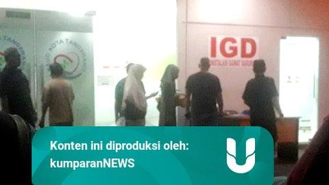 Tingkat Keterisian RSUD Kota Tangerang Capai 97,3%, Pasien Corona Waiting List