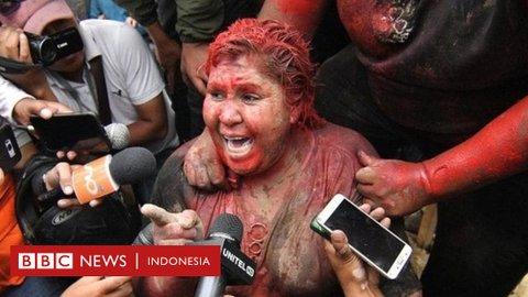 Ribut soal pilpres Bolivia, demonstran oposisi seret wali kota dan cukur paksa rambutnya