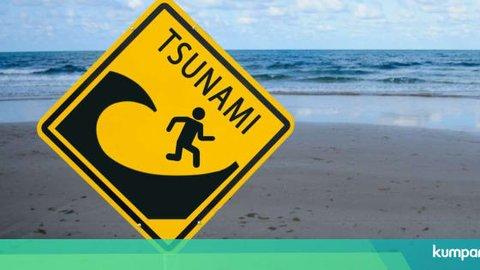 Ada Peringatan Tsunami, Warga Bitung, Sulut Diimbau Tetap Tenang