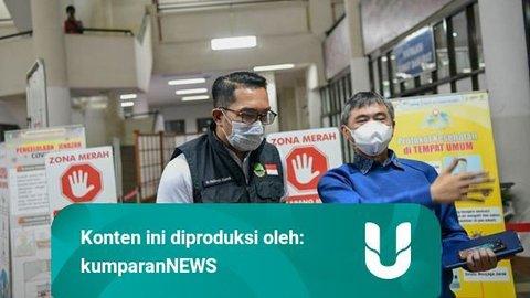Keterisian RS Corona di Jabar Sudah 70%, Ridwan Kamil Akan Tambah 3 Ribu Bed