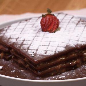 Cracker Krim Vla Cokelat