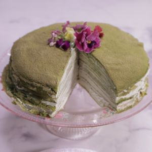Green Tea Mille Crepes