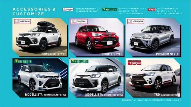 Raize dibekali dengan beberapa fitur kekinian pada mobil (Carmudi Indonesia)