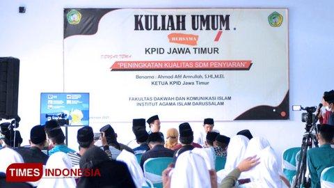 Fakultas Dakwah Komunikasi Islam IAI Darussalam Blokagung Banyuwangi Gelar Kuliah Umum