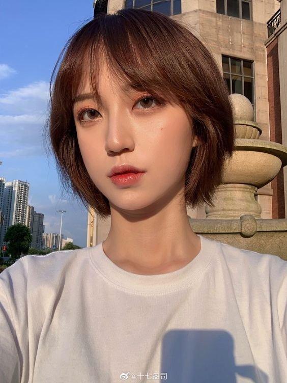 8 Inspirasi Model Rambut Pendek Ala Korea Untuk Wajah Lonjong Kurio