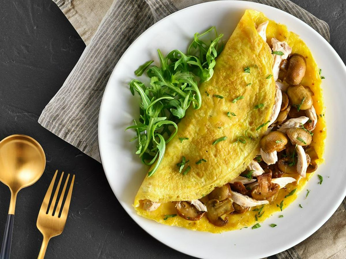 Resep Omelette Ayam Jamur Endeus Tv