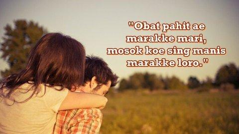 40 Kata Kata Gombal Bahasa Jawa Dan Artinya Romantis Lucu