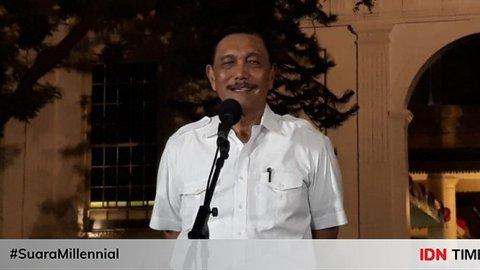 Prabowo Jadi Menhan, Luhut: Saya Kira Itu Sudah Tepat
