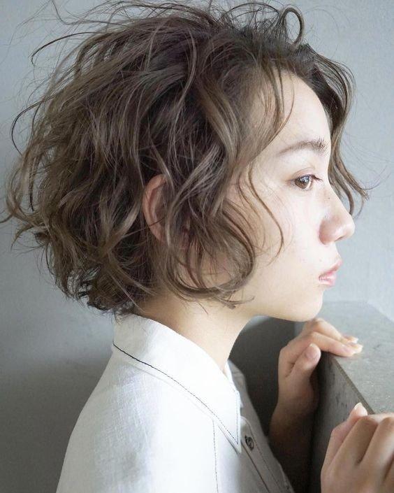 7 Inspirasi Rambut Keriting Pendek Ala Perempuan Korea Kurio