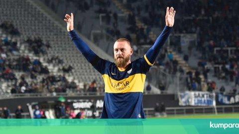 Pahit Manis Debut Daniele De Rossi Bersama Boca Juniors