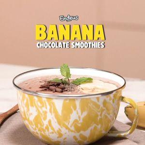 Banana Chocolate Smoothies