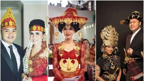 15 Busana Adat Batak Untuk Tampil Istimewa Di Hari Pernikahan Kurio