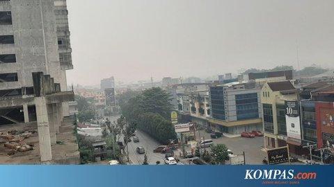 Kabut Asap Semakin Pekat, SMA dan SLB di Kalimantan Barat Libur 3 Hari
