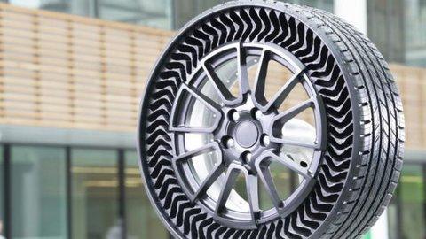 Michelin Perkenalkan Ban Tanpa Angin Uptis