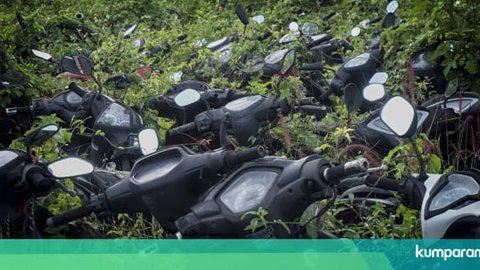 Kisah Mistis Kuburan Motor di Bekasi